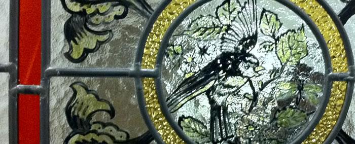 Balham Lodge Glass Detail