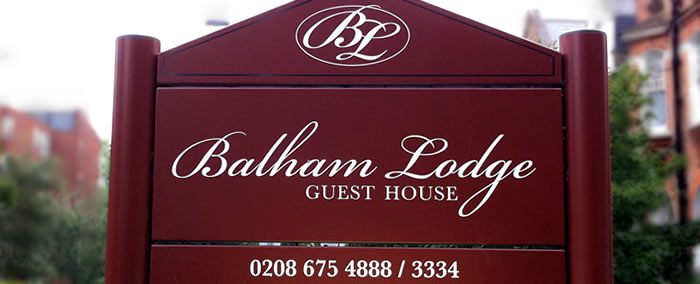 Balham Lodge Reservations